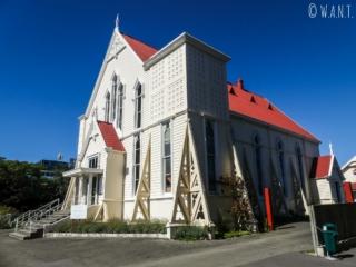 Église dans les rues de Nelson sur l'île du sud de la Nouvelle-Zélande