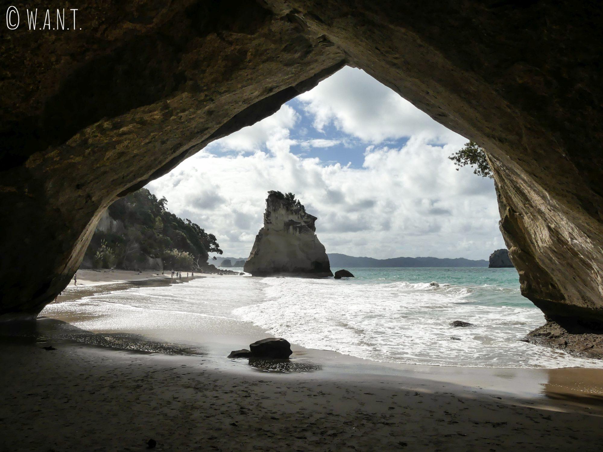 Cathedral Cove, le fameux paysage du film Narnia avec la vue sur Te Hoho Rock