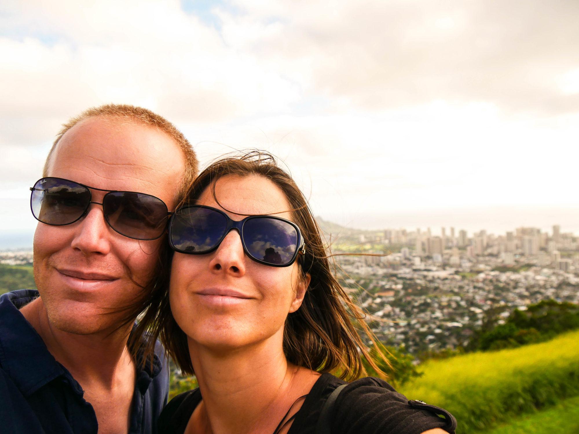 "Alexandra et Pierre du blog ""onholidaysagain.com"""
