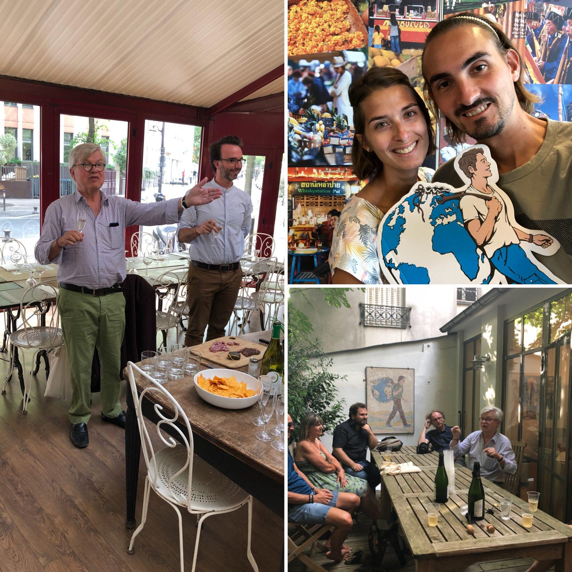 Visite au sein des éditions du Guide du Routard et rencontre avec Philippe Gloaguen, son fondateur
