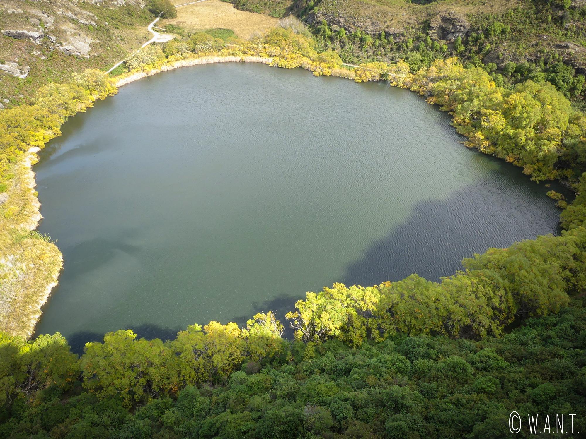 Vue sur le Diamond Lake près de Wanaka en Nouvelle-Zélande