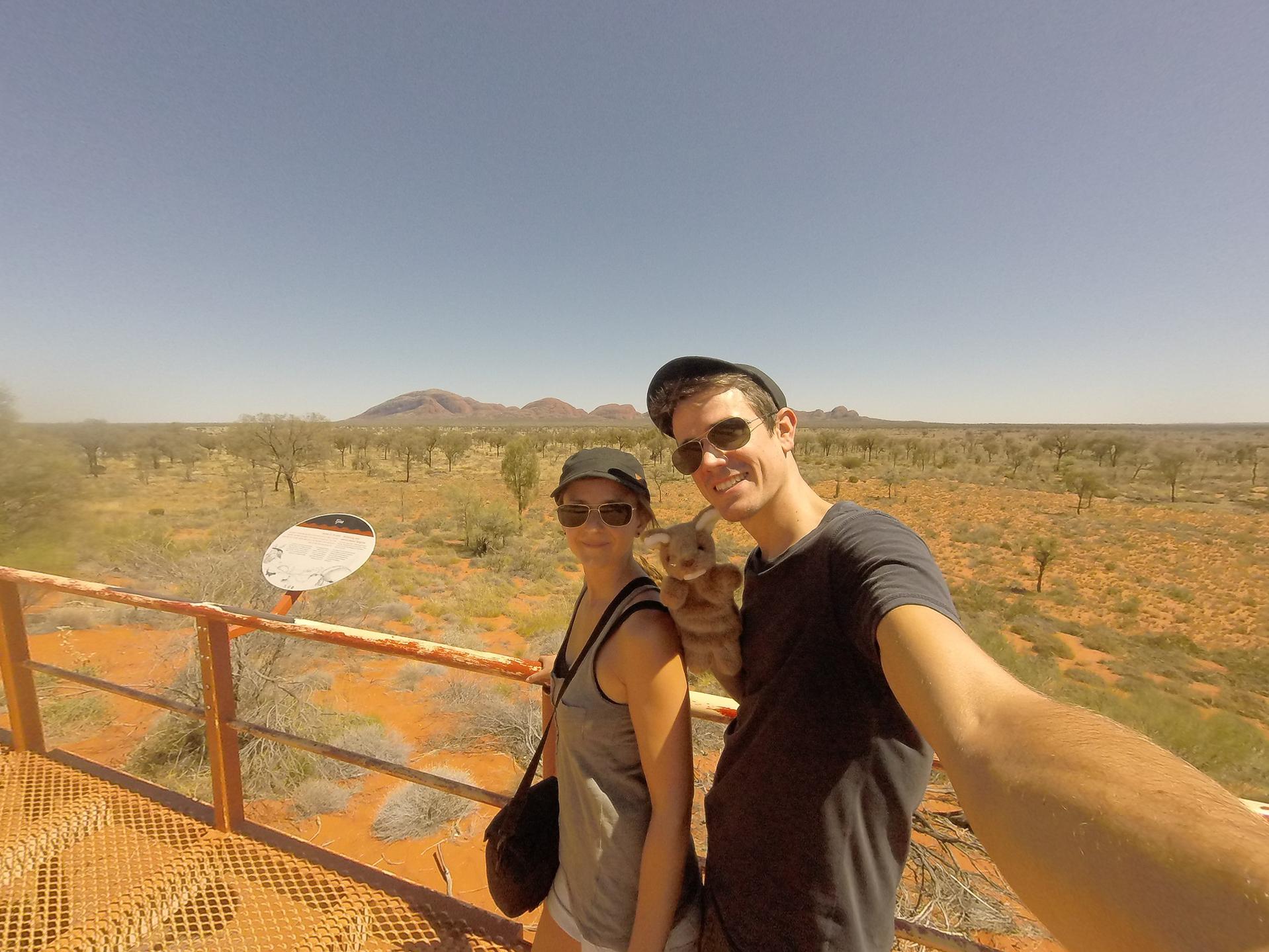 Morgane et Thomas en Australie