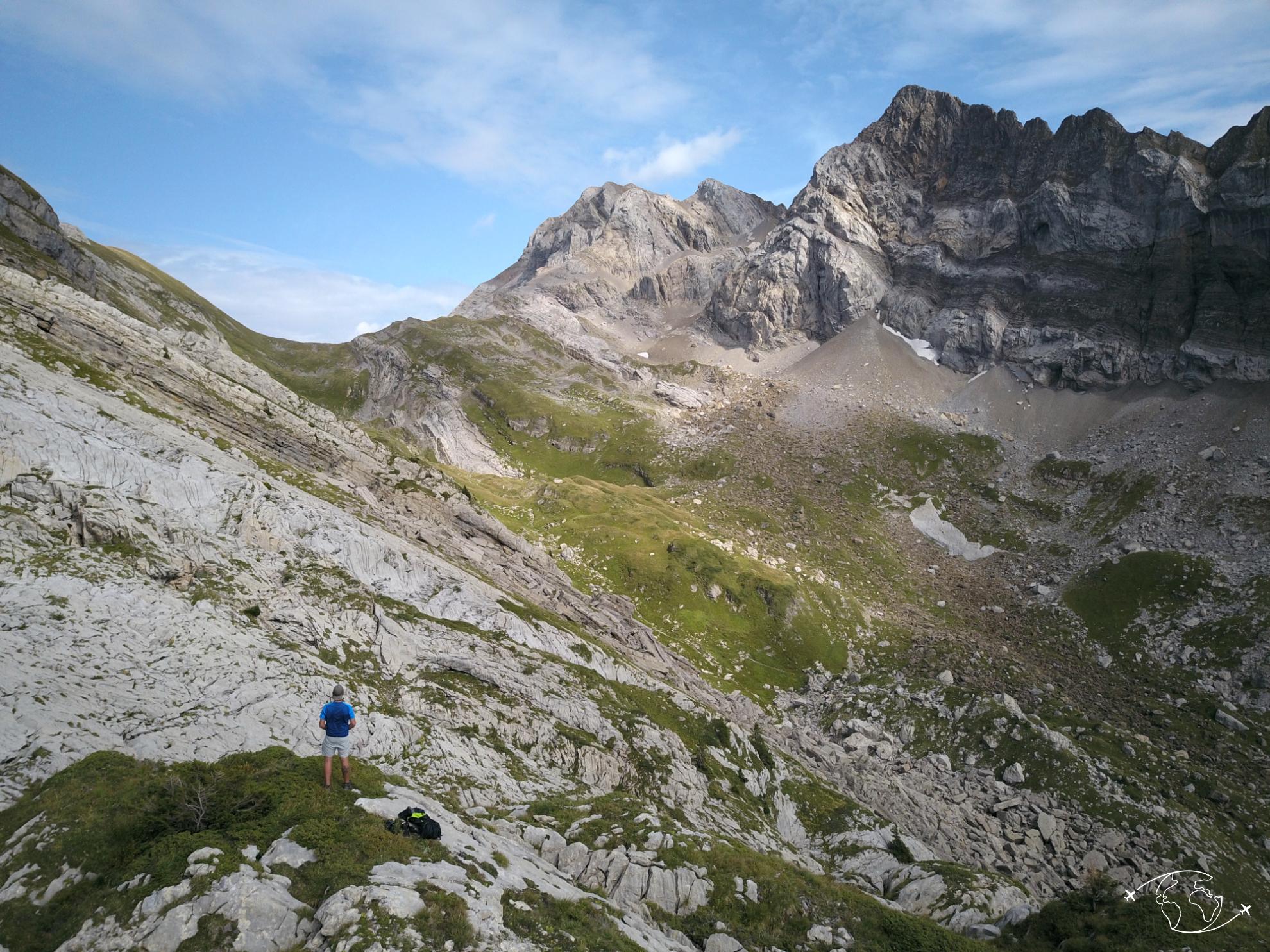 Benoît a contemplé de superbes paysages durant son voyage autour du monde